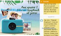 Logo Puoi vincere anche tu una delle 306 Polaroid Snaptouch in palio con Activia!