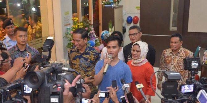 Inilah Nama Cucu Pertama Jokowi dari Sang Putra Gibran Rakabuming Raka