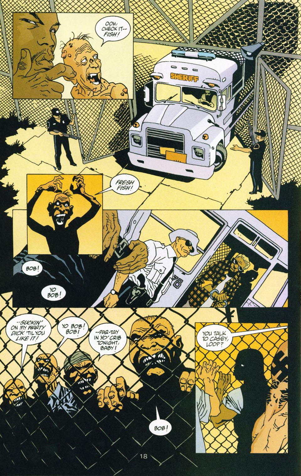 Read online 100 Bullets comic -  Issue #43 - 19