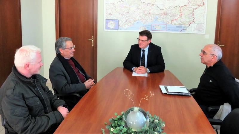 Συνάντηση Πέτροβιτς με τον Γενικό Γραμματέα του Υπουργείου Αγροτικής Ανάπτυξης και Τροφίμων