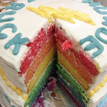 thunderstruck rainbow cake