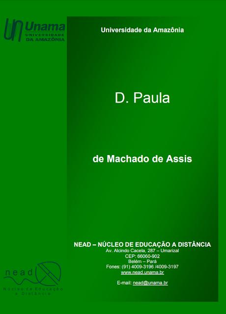 D. Paula - Machado de Assis