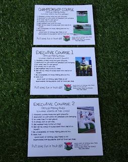 Three Goony Golf of Spring Lake Park scorecards