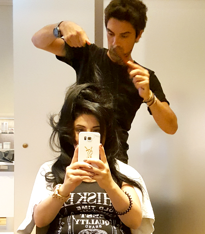 L´Oréal Paris Blogger Event am Tegernsee - Hair Styling bei Eren Bektas