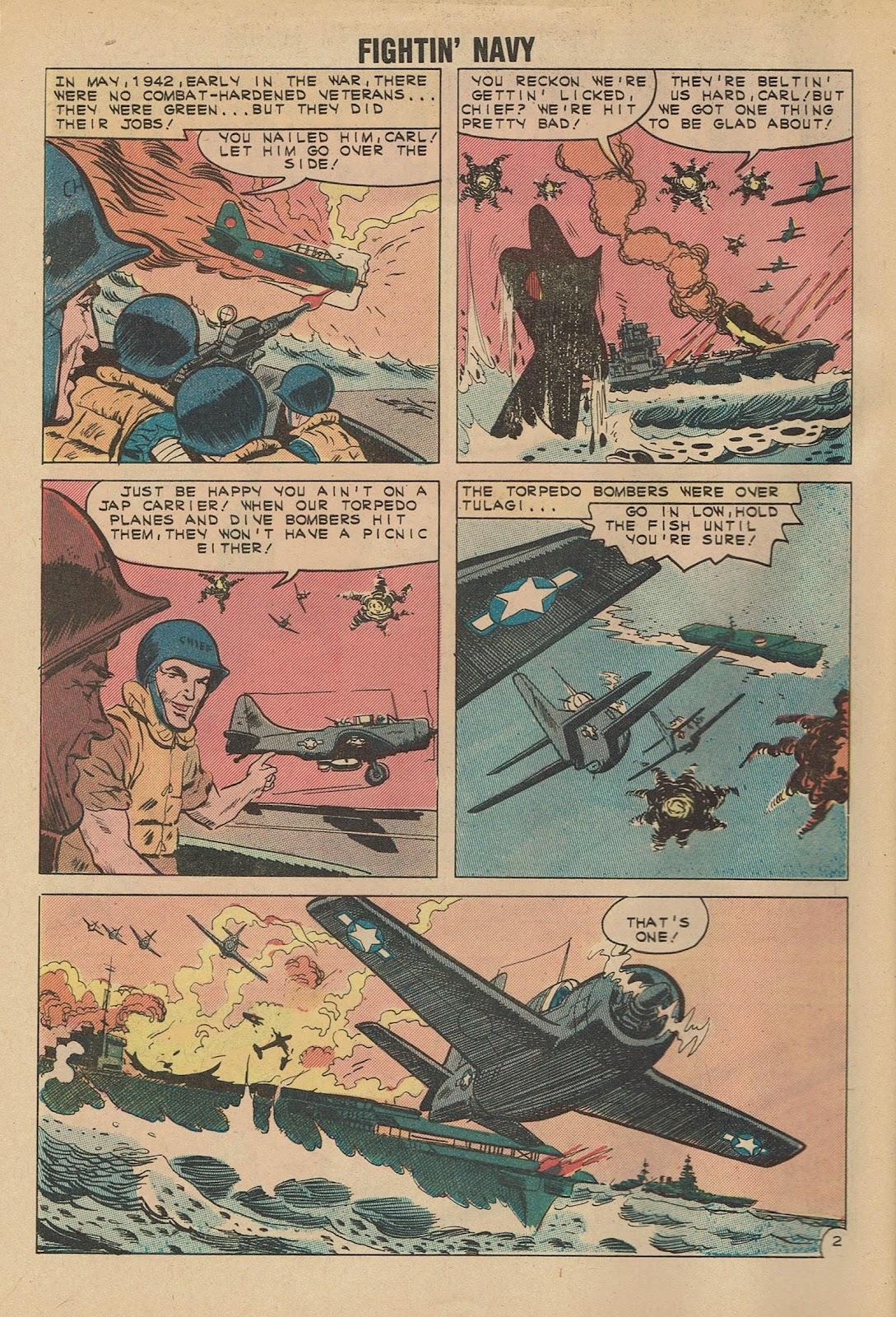 Read online Fightin' Navy comic -  Issue #101 - 4