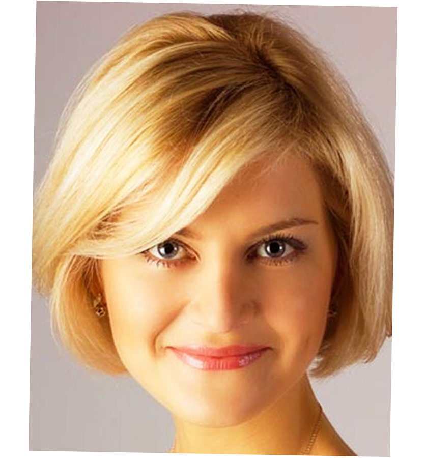 Womens Short Haircuts For Thick Thin Hair Round Face
