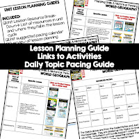 mapping skills lesson plans, world geography lesson plans, geography activities, world geography games, world geography middle school, world geography high school