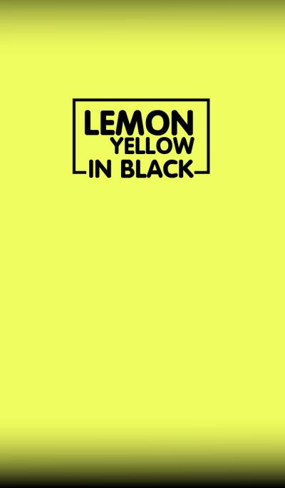 Lemon Yellow & Black Theme(jp)