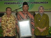 Wah, Pengadilan Agama Purbalingga Sekarang Sudah Bersetifikat ISO 9001:2008