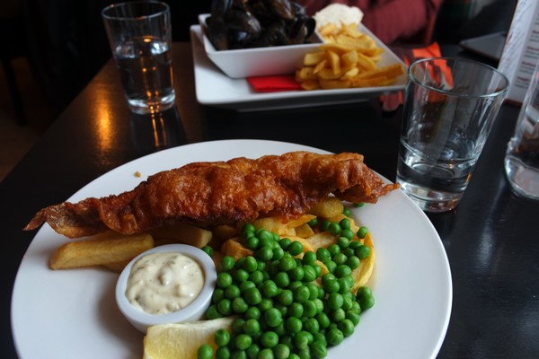 écosse highlands île mull tobermory pub gastronomie fish and chips