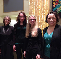 Jean Schrader, Keris Manke, Lara Matmeny, and Kaylee McBain, January 17, 2015