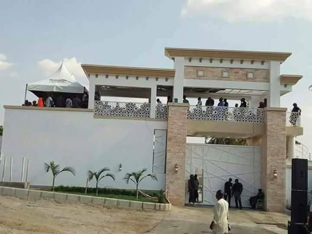Photos: Governor Yahaya Bello reportedly opens his state-of-the-art mansion in Okene