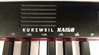 Kurzweil KA150 cabinet and control panel