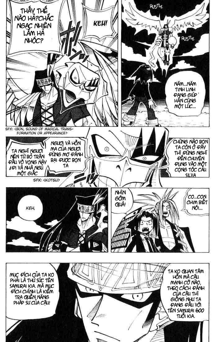 Shaman King [Vua pháp thuật] chap 28 trang 18
