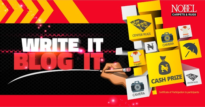 Nobe Carpets and rugs Bloggers Contest