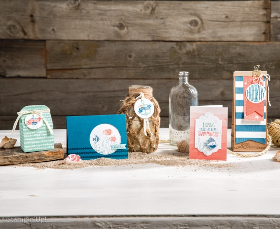 By The Shore Suite is soft and nautical.