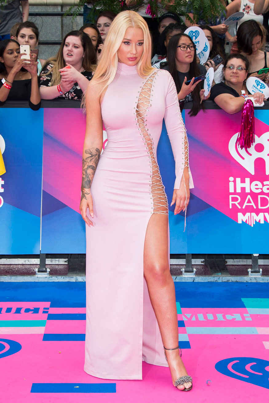 Iggy Azalea arrives at the iHeartRadio Much Music Video Award