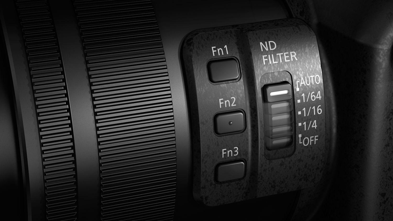 Управление объективом в Lumix FZ2000/FZ2500