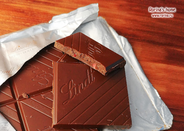 Отзыв о шоколаде Линдт