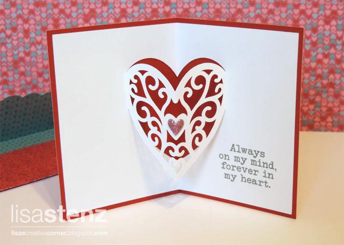lisa's creative corner january project kit  valentine