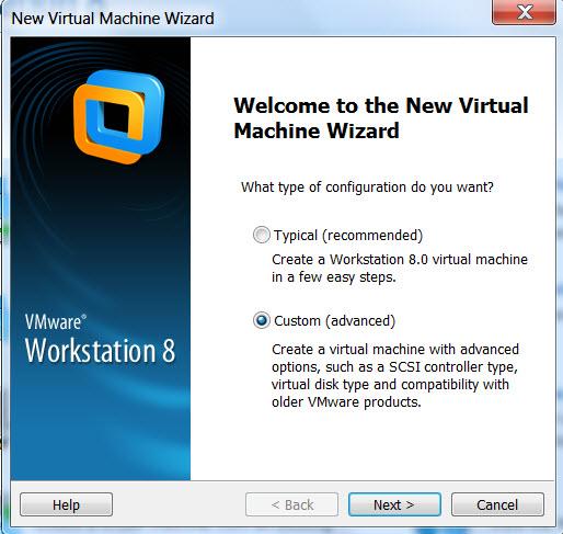 How to create Solaris virtual machine in vmware workstation