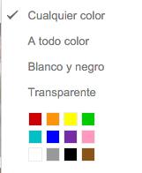 color imagen google