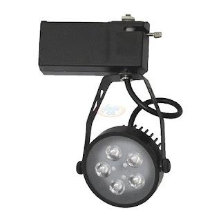 7W LED軌道投射燈,LED軌道燈(黑)