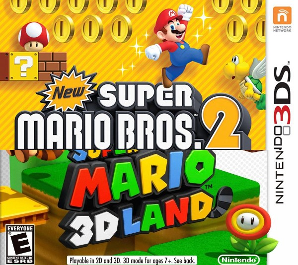 Fichas Nintendo 3ds New Super Mario Bros 2 Super Mario 3d Land