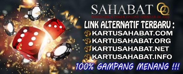 Kartusahabat.org Agen Dominoqq / Domino 99 , Poker Online Aman dan Terpercaya