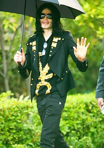 Michael Jackson Balmain Pants Black