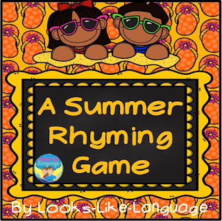 phonemic awareness, rhyming, free, games, printable