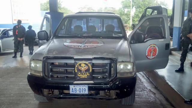 Marinheiros bolivianos são detidos em MS com veículo roubado