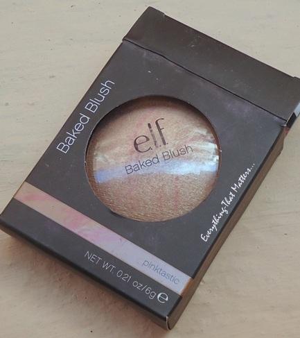 e.l.f+Studio+baked+blush+Pinktastic+Swatch+Review+FOTD