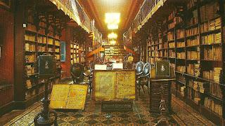 Antiga Biblioteca do Convento de San Francisco, em Lima