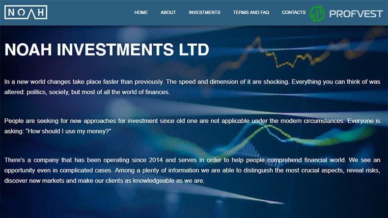 Noah Investments обзор и отзывы HYIP проекта enjoy-your.life