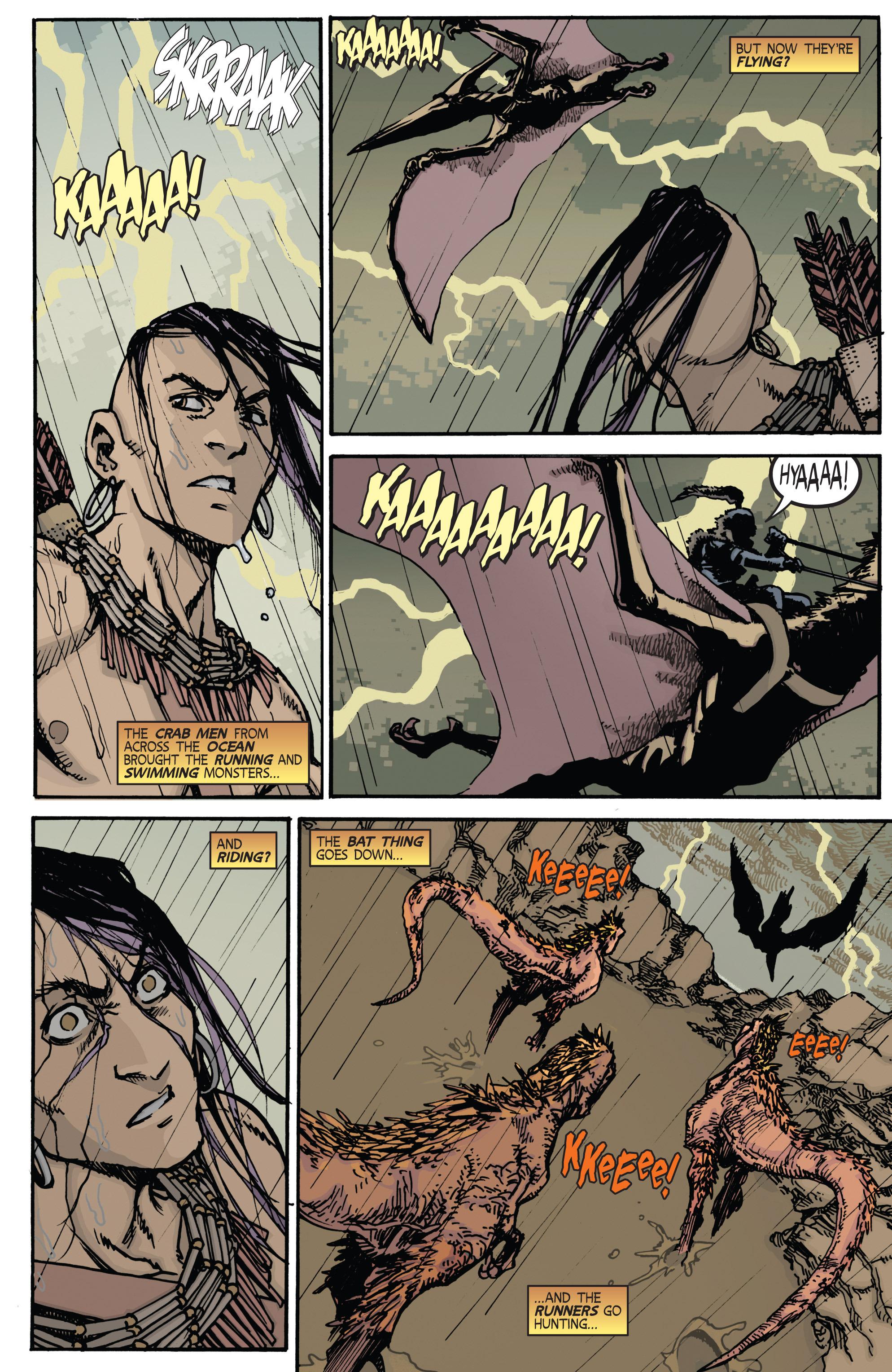 Read online Turok: Dinosaur Hunter (2014) comic -  Issue # _TPB 2 - 7