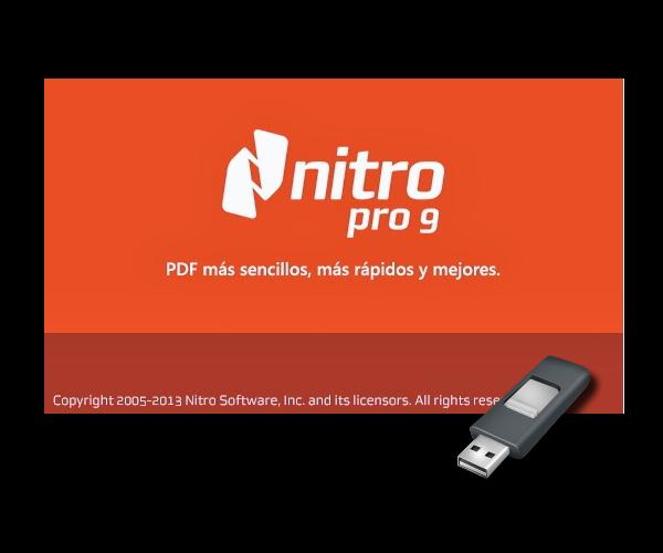 Nitro Pro 9.5.3.8 - Español - Portable - Uno de los mejores programas de gestión y edición de PDF