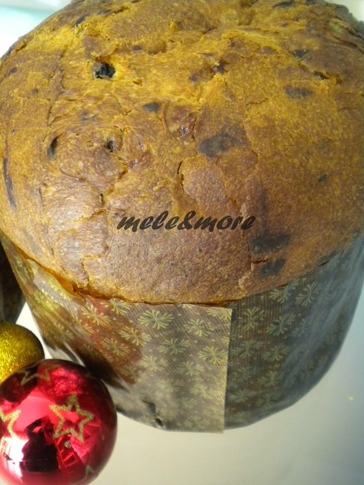 Mele More Panettone Con Lievito Madre Dal Blog La Cucina Degli Angeli