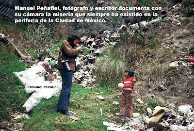 Durante décadas, Manuel Peñafiel ha documentado y denunciado la miseria en que  viven millones de sus paisanos.