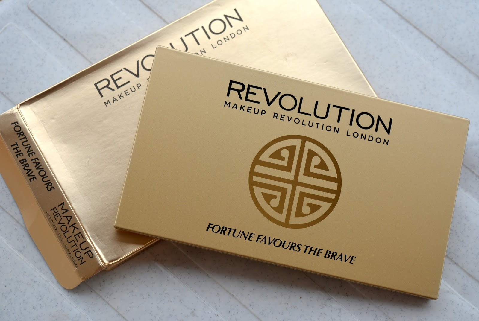 Makeup Revolution FORTUNE FAVOURS THE BRAVE Review, Swatches, Availability in India