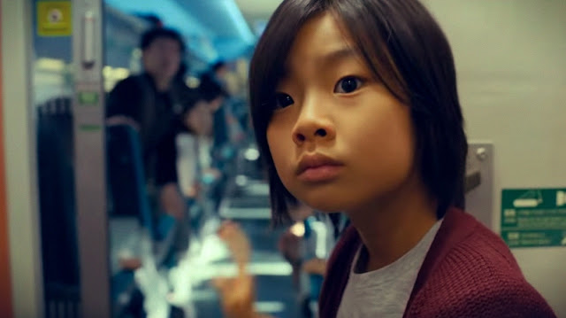petite fille Su-An (Kim Soo-Ahn) dans Dernier Train pour Busan, de Sang-Ho Yeon