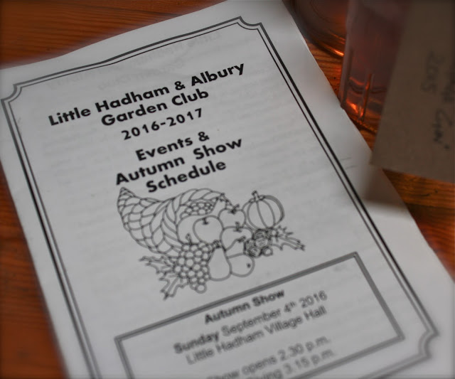 Little Hadham and Albury Garden Club Show