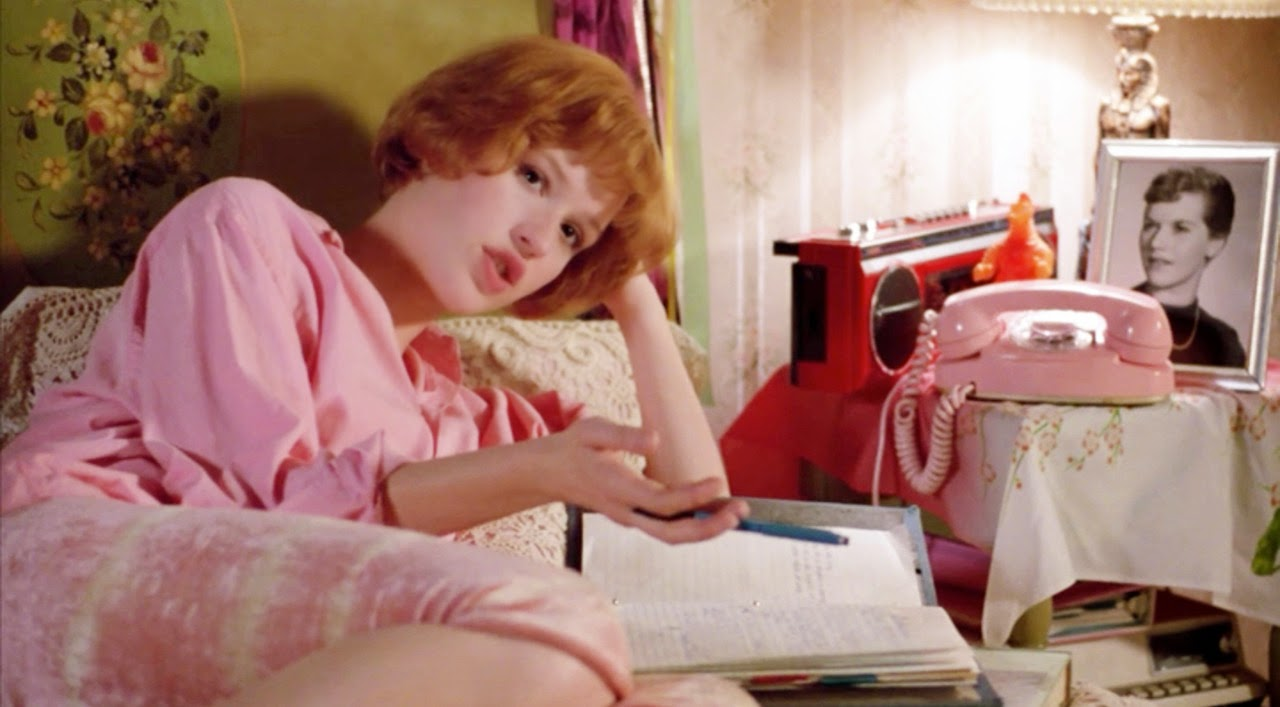 movie review pretty in pink 1986 the ace black blog. Black Bedroom Furniture Sets. Home Design Ideas