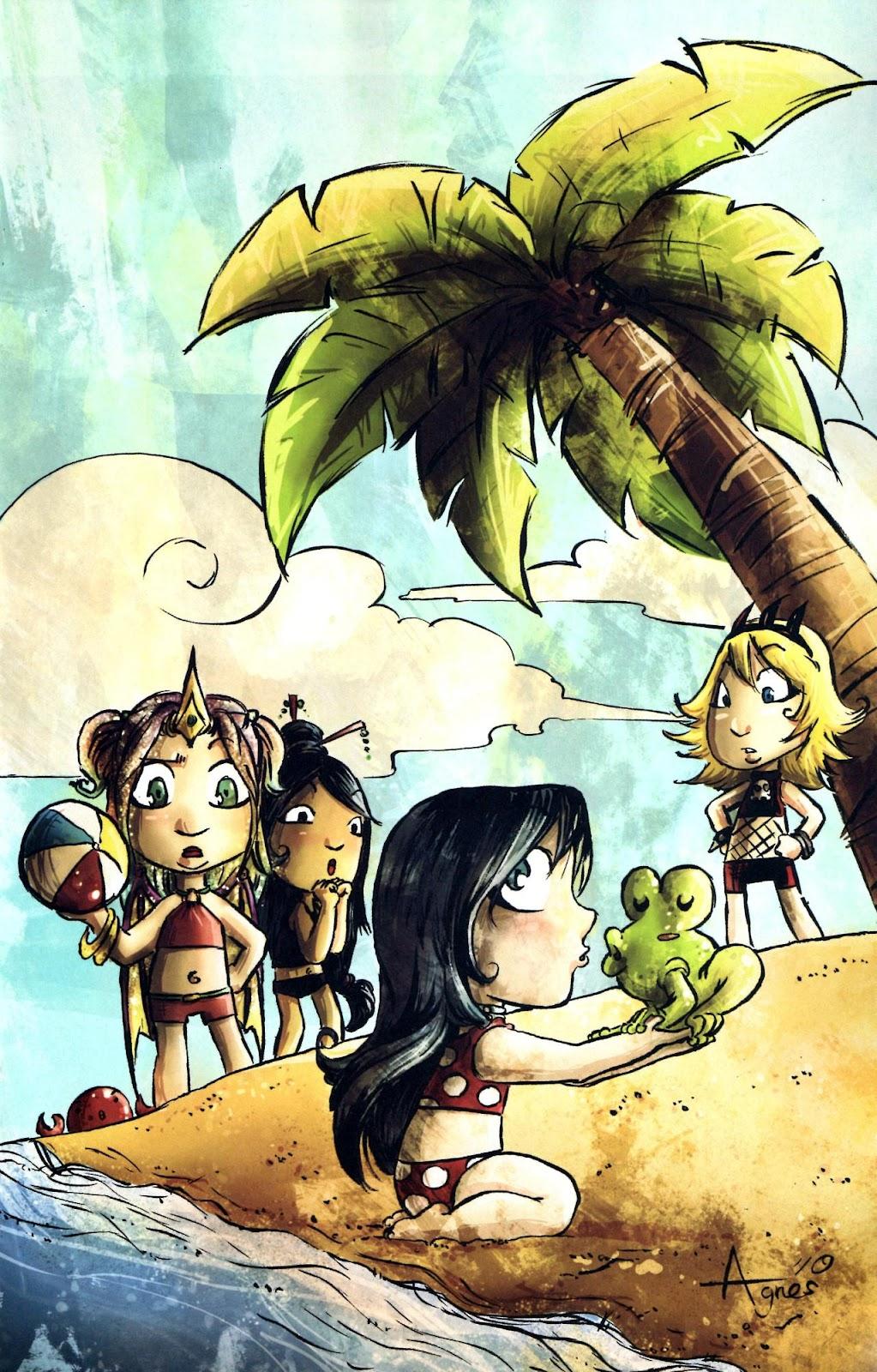Read online Aspen Splash: Swimsuit Spectacular comic -  Issue # Issue 2010 - 7
