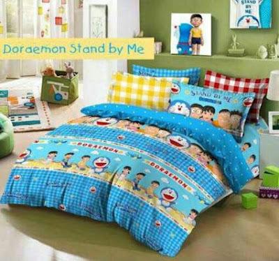 Sprei Star Anak Anak Doraemon