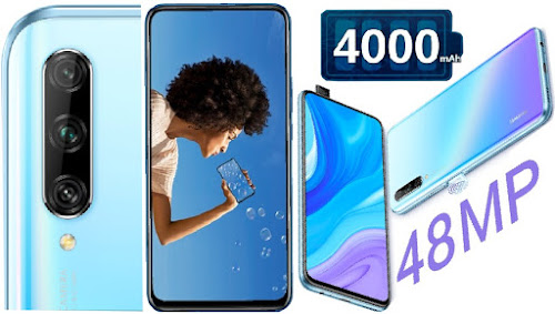 Huawei Y9s Ultra Full-View Phablet with Pop-up Cam: 128GB/6GB ROM, 8Core Dual-Sim Android Smartphone