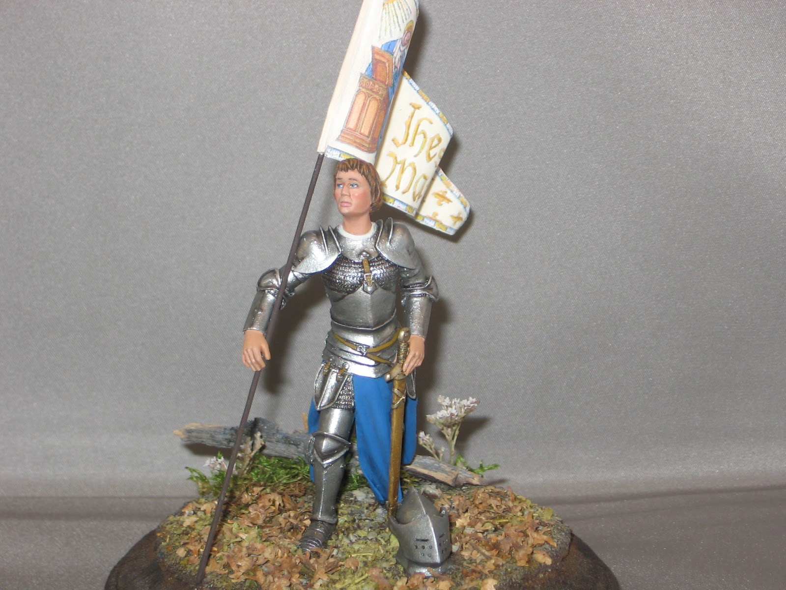 West Texas Figure Painter: Nemrod 75mm Joan of Arc and Andrea