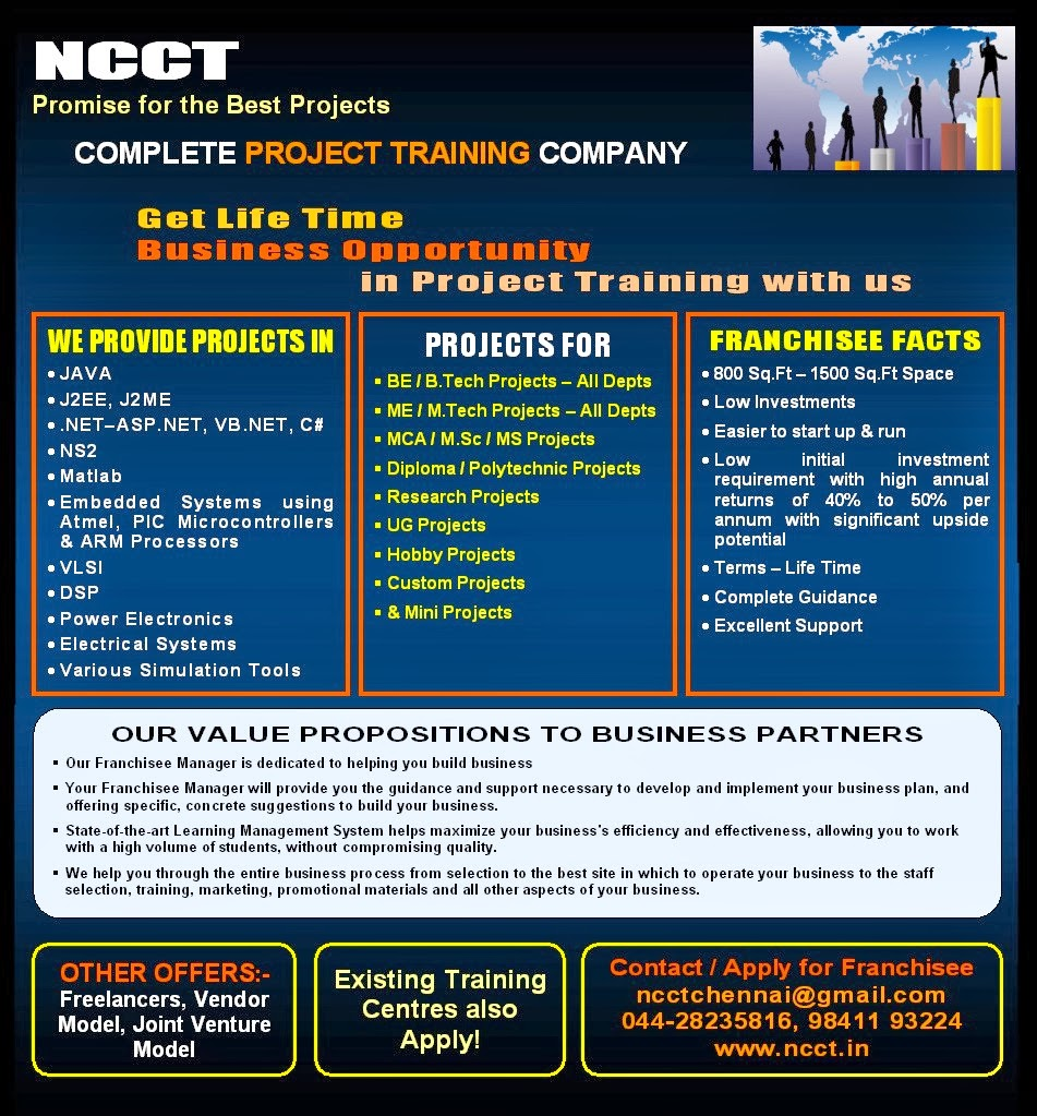 IEEE FINAL YEAR PROJECT TOPICS @ NCCT, www ncct in, 044-28235816