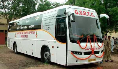GSRTC online Booking Bus ticket Timetable