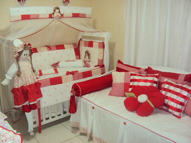 Resultado de imagem para quartos de bebe decorados cor vermelho
